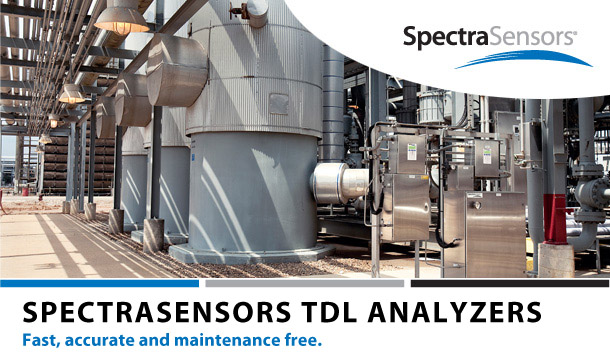 SpectraSensors TDL Analyzers for Water Measurements in Desiccant Dryers